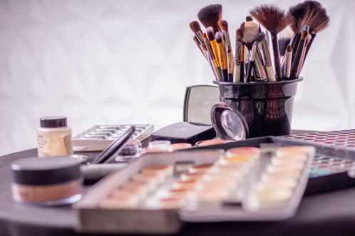 Makeup- purge your makeup to help get rid of pimple